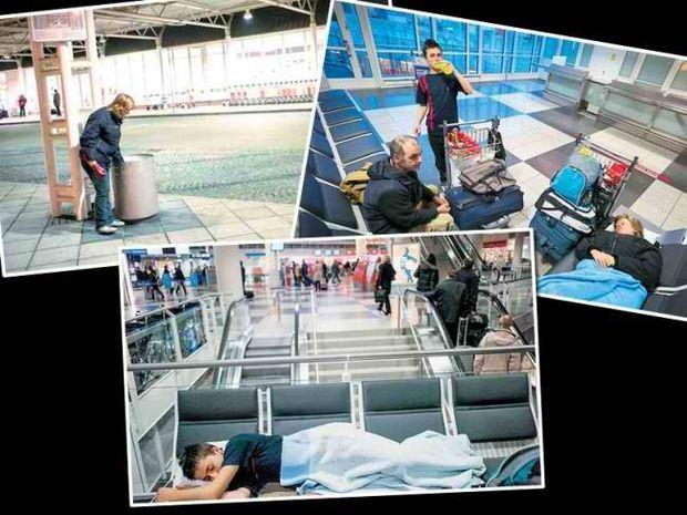 Οικογένεια Ελλήνων ζει 6 μήνες στο αεροδρόμιο του Μονάχου