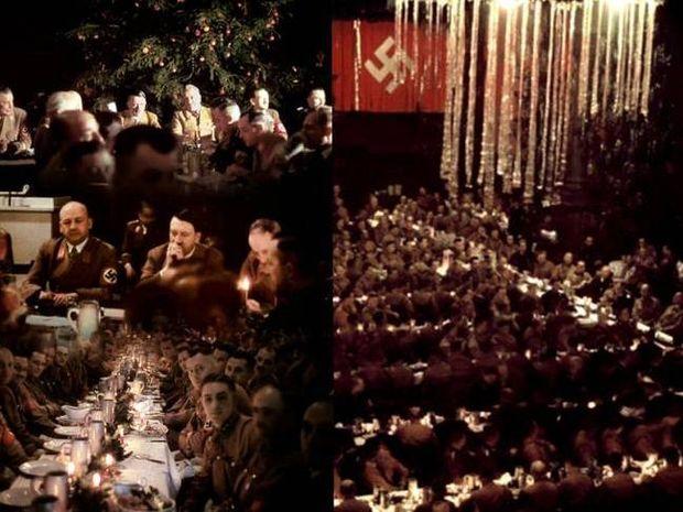 Το χριστουγεννιάτικο δείπνο του Χίτλερ εν μέσω πολέμου
