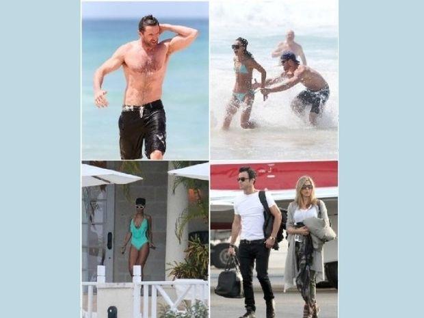 Ποιοι star κάνουν Χριστούγεννα στις παραλίες;