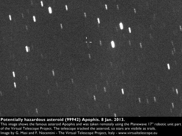 Δείτε τον αστεροειδή που θα μπορούσε να συγκρουστεί με τη Γη