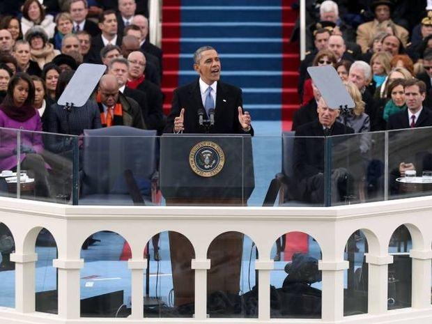 Η δεύτερη ορκωμοσία του Barack Obama