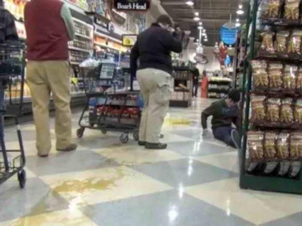 Δείτε τι μπορεί να πάθετε σε ένα σούπερ μάρκετ