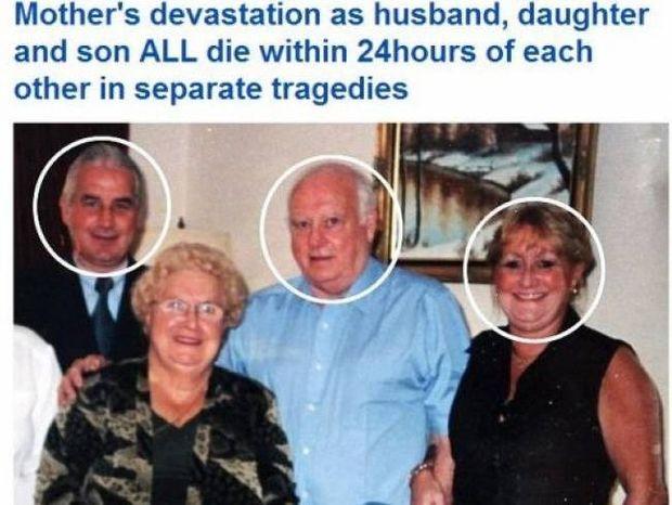 Τραγωδία: Έχασε κόρη, γιο και σύζυγο σ΄ ένα 24ωρο