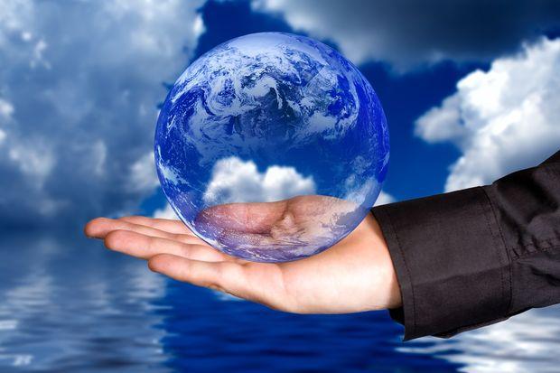 Αυτό είναι όλο το νερό που υπάρχει στον πλανήτη!