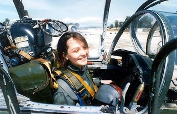 ΔΕΙΤΕ: Η πρώτη Ελληνίδα που πέταξε με F 104 και όχι μόνο!