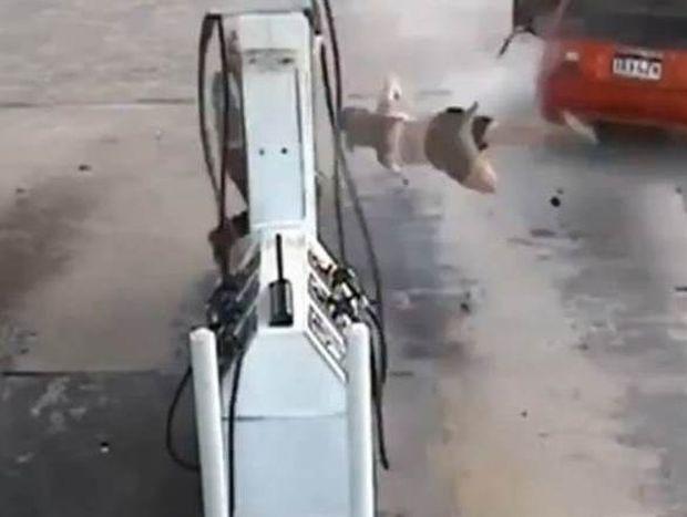 Απίστευτο! Ξήλωσε μάνικα βενζίνης και έφυγε!
