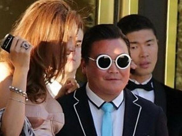 ΑΠΙΣΤΕΥΤΟ: Σωσίας του Psy κατάφερε να ξεγελάσει όλους τους celebrities στις Κάννες!