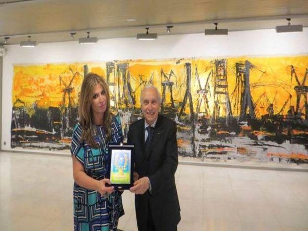 Σημαντική διεθνής διάκριση για τη Μίνα Παπαθεοδώρου-Βαλυράκη