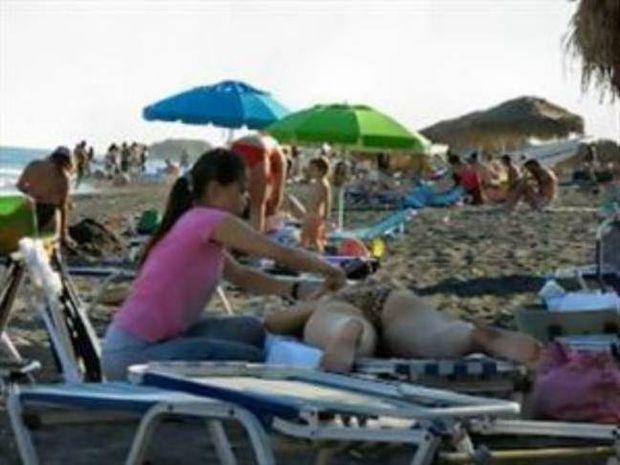 Δεν είχε καλή κατάληξη το μασάζ Κινέζας σε παραλία της Κρήτης