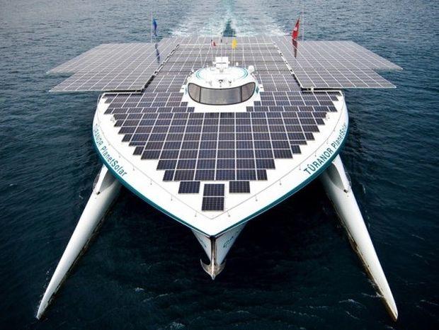 Αυτό είναι το μεγαλύτερο ηλιακό σκάφος στον κόσμο!