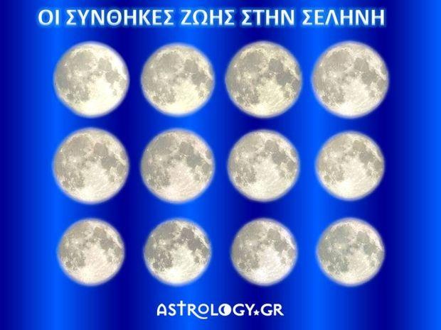 Οι συνθήκες ζωής στη Σελήνη