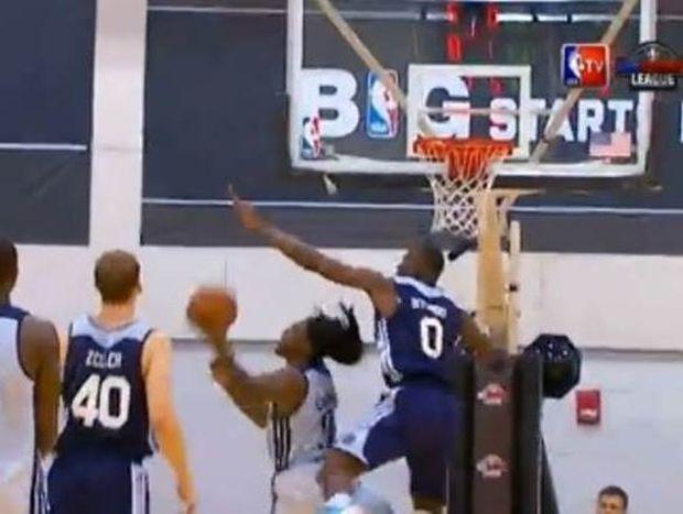 NBA Summer League: Είσαι μεγάλος… ακροβάτης! (video)