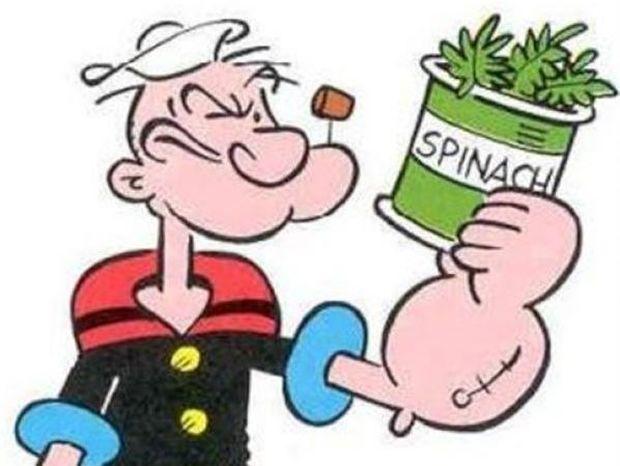 Μύθος όσα γνωρίζατε για το σπανάκι