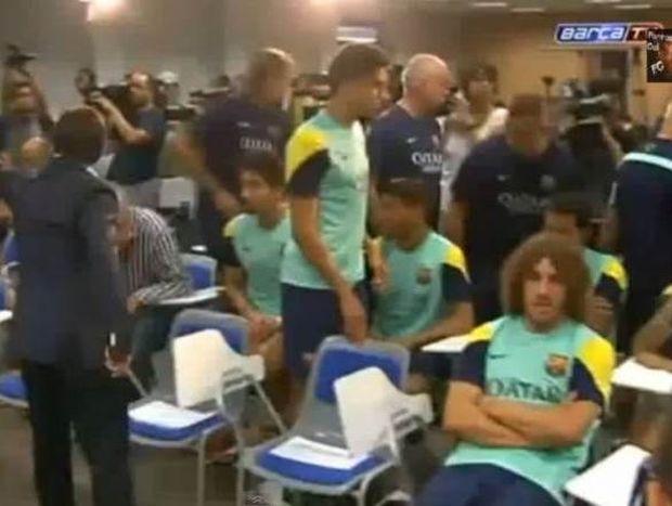 Μπαρτσελόνα: Συγκλονισμένοι οι παίκτες με Βιλανόβα (video)