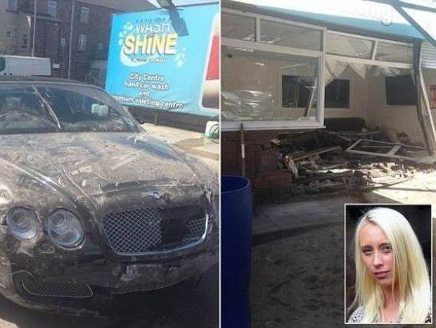 Άφησε το πανάκριβο αυτοκίνητό της για πλύσιμο και δείτε πώς το έκαναν!