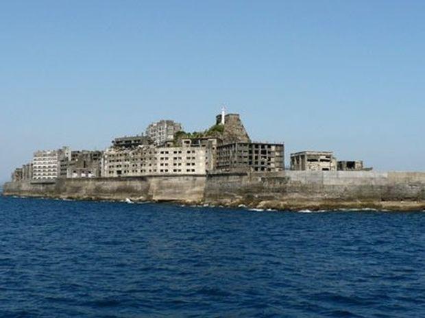 Πόλη – φάντασμα στη μέση της θάλασσας