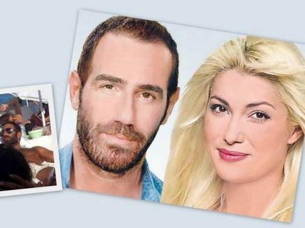 Το νέο καυτό ειδύλλιο της showbiz: Αντώνης Κανάκης - Κλέλια Ρένεση