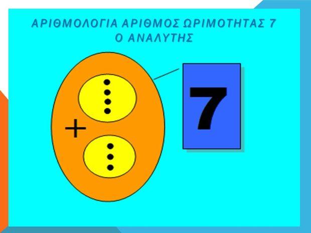 Αριθμός Ωριμότητας 7: Ο Αναλυτής