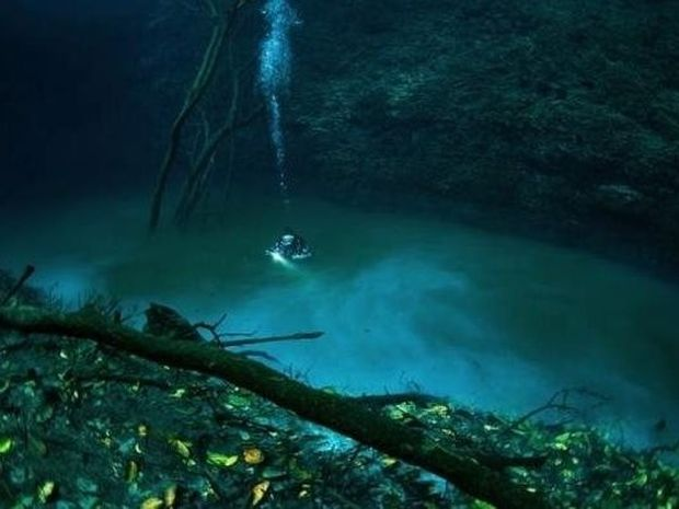 Ποτάμι ρέει στον βυθό της θάλασσας…