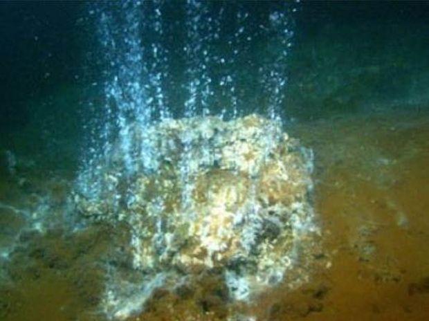 Σπάνιο φαινόμενο: Το ηφαίστειο της Σαντορίνης εκλύει χρυσάφι!