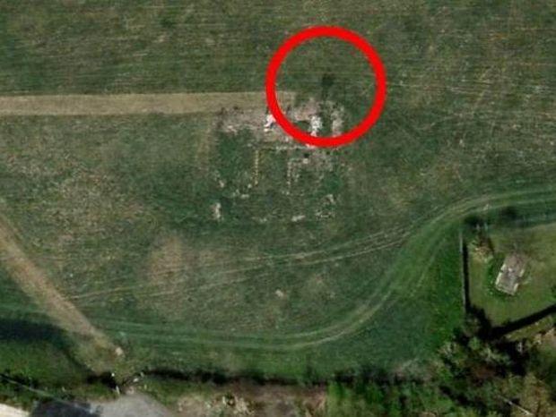 Περίεργη μορφή σε φωτογραφία του Google Earth από χωριό-φάντασμα