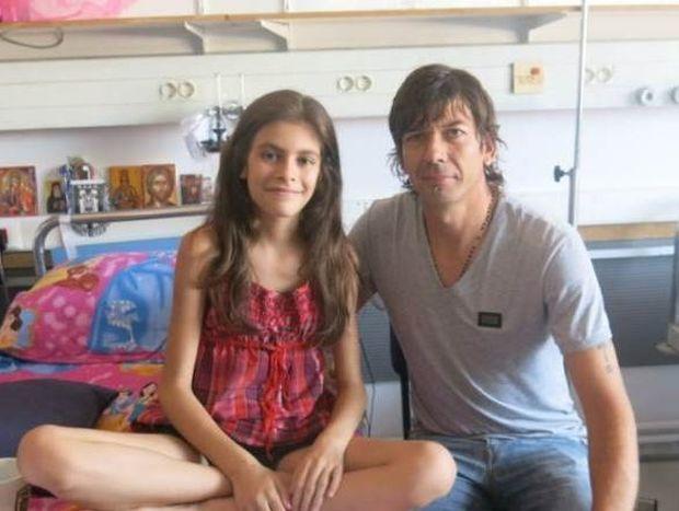 ΠΑΟΚ: Ο Γκαρσία δίνει… χαμόγελο σε 11χρονο κοριτσάκι (photos)