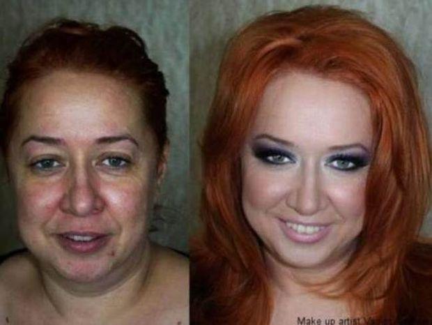 Το μακιγιάζ κάνει... θαύματα