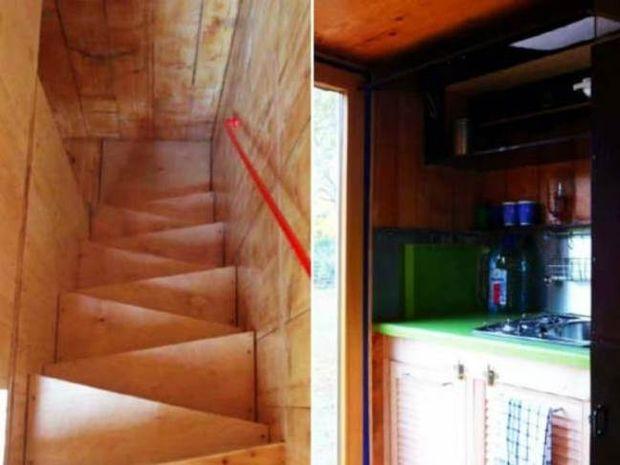 Απίθανο: Τριώροφο φορητό σπίτι 7 τ.μ. (pics)