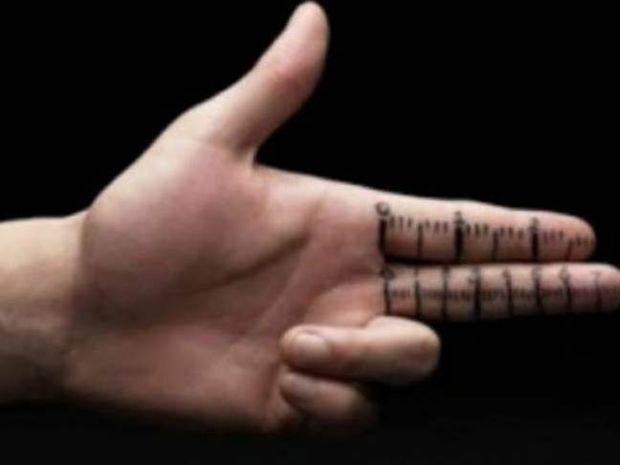 Τι σημαίνει όταν ο άνδρας έχει κοντά δάχτυλα;