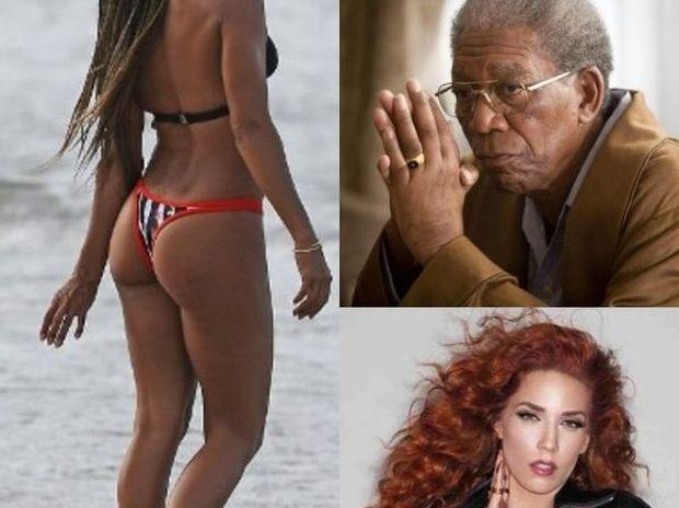 Η εκδίκηση της πρώην, η topless Κατερίνα Στικούδη και ο θάνατος του… Morgan Freeman