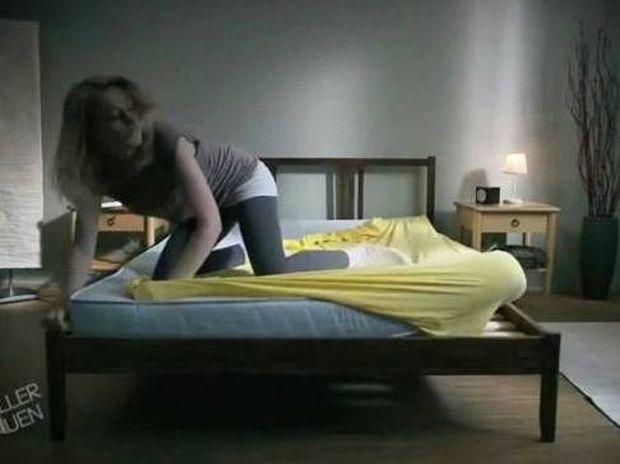 Βίντεο για πολύ γέλιο! Εσείς πως στρώνετε το κρεβάτι σας; (vid)