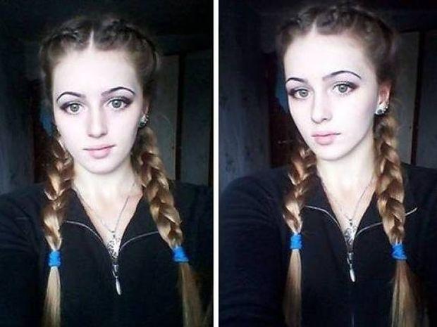 Μη σας ξεγελά το αγγελικό της πρόσωπο… (pics)