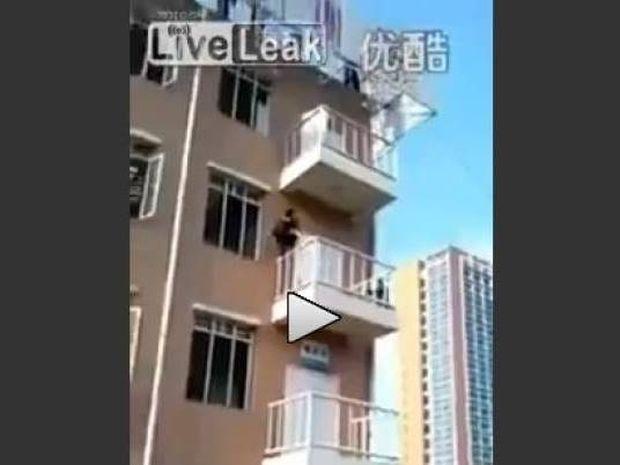 Βίντεο: Δείτε πως ανεβαίνει κανείς ένα κτίριο σε 15 δευτερόλεπτα