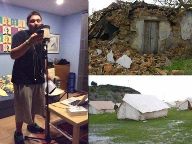 Ο 17χρονος ράπερ που συγκίνησε όλη την Ελλάδα με το τραγούδι του