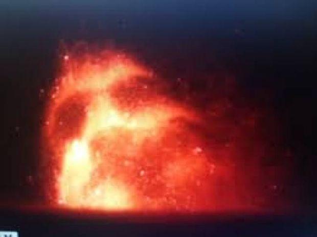 Ανατριχιαστικό βίντεο: Είδαν το πρόσωπο του διαβόλου πάνω από ηφαίστειο