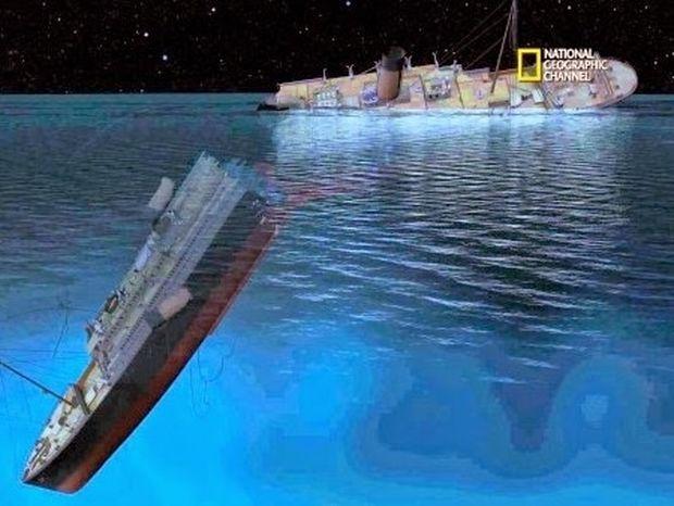 ΕΚΠΛΗΚΤΙΚΟ VIDEO: Πως βυθίστηκε ο Τιτανικός