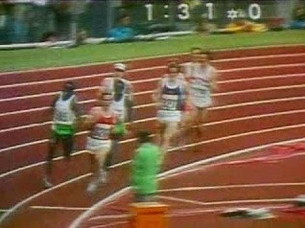 ΑΠΙΣΤΕΥΤΟ VIDEO: Μην αφήσετε από τα μάτια σας τον αθλητή με το άσπρο καπέλο...