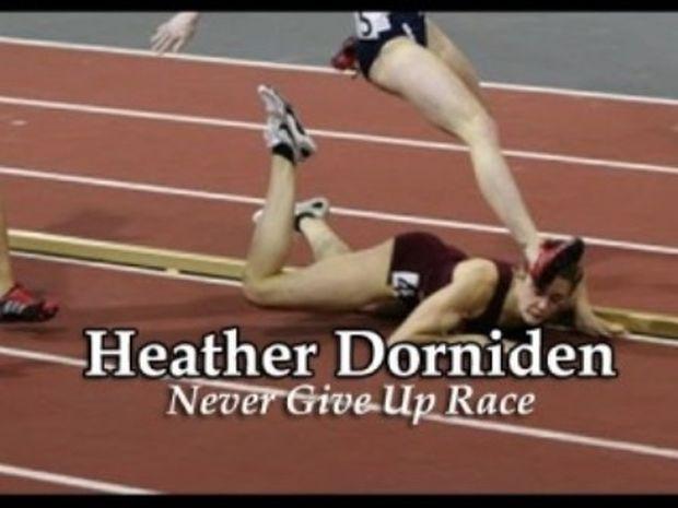 Η αθλήτρια που δίδαξε την επιμονή! (βίντεο)