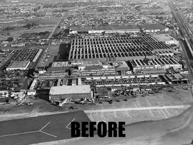 Δείτε πως εξαφάνιζαν μια ολόκληρη στρατιωτική βάση στο Β' Παγκόσμιο Πόλεμο