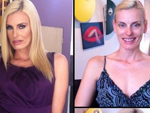 Σοκάρουν οι φωτό των ηθοποιών ερωτικών ταινιών πριν και μετά το μακιγιάζ