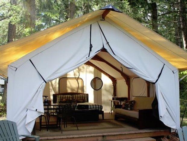 Δεν σου αρέσει το camping; Δες τις παρακάτω φωτογραφίες και σίγουρα θα αλλάξεις γνώμη!