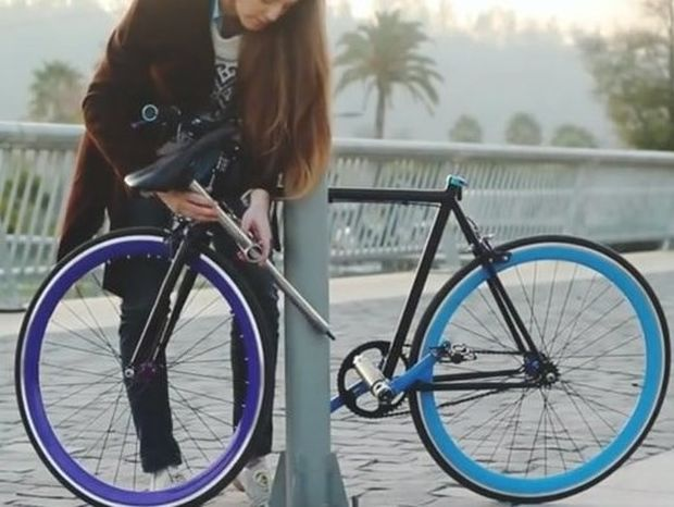 Το ποδήλατο που κανείς δεν μπορεί να κλέψει (βίντεο)