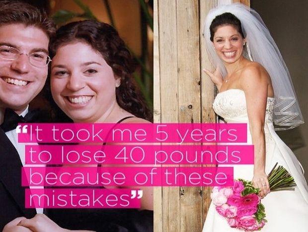 Λάθη που διόρθωσα και έχασα γρήγορα κιλά πριν το γάμο!
