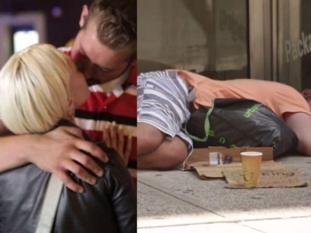 Κάθε βράδυ και με άλλη: Ο άστεγος του Μανχάταν που γοητεύει! (video)