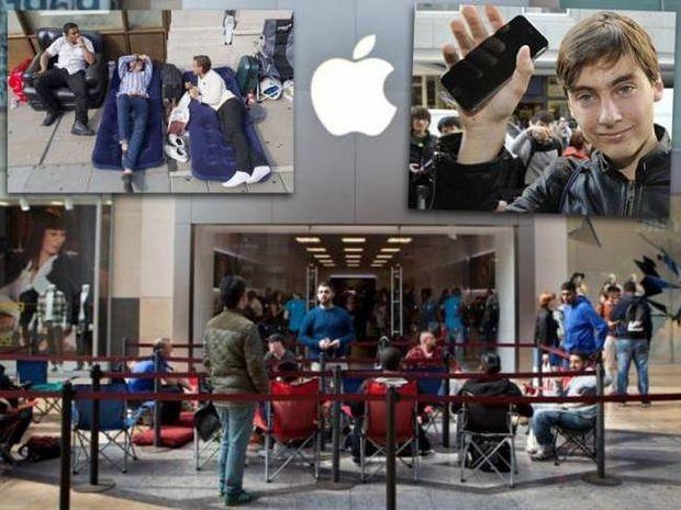 Ουρές και πανικός για το iPhone 6