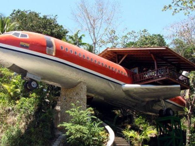 Δείτε το «αεροπλάνο - σουίτα» στην ζούγκλα της Κόστα Ρίκα!