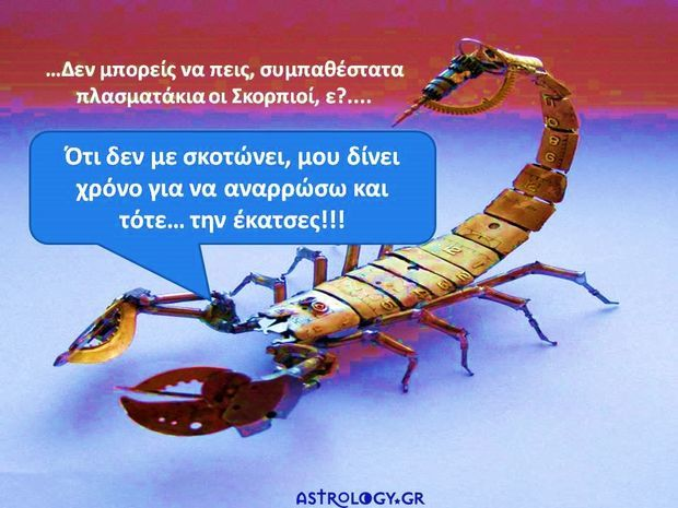 Σκορπιός: Τι λένε τα άλλα 11 ζώδια… και τι σχολιάζουμε εμείς!