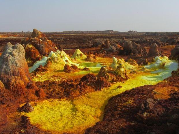 Έρημος Danakil, μια κόλαση πάνω στη Γη