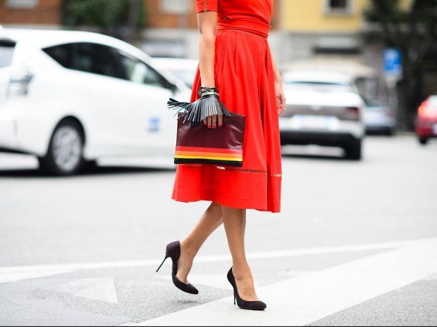 5 τρόποι να φορέσετε το κόκκινο στις γιορτές