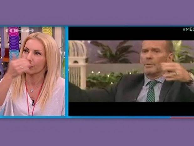Τσαβαλιά: Έτρεμε από τα νεύρα της on air στο Μega Mε Μία!